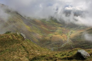 View of Cautley Crag, chosen by shepherdess Alison O'Neill