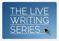 Live writing series